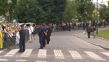 Blokował wjazd polityków PiS na Wawel. Dostał grzywnę. Prosi prezydenta o ułaskawienie