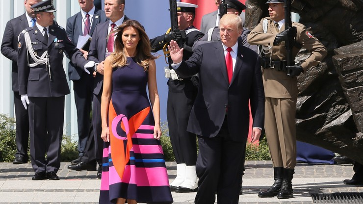 Trump przyjął zaproszenie do Słowenii, skąd pochodzi jego żona