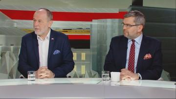 """""""Stanowcza polityka Polski powoduje furię u Putina"""" vs """"prezydent Rosji chce pomóc PiS"""""""