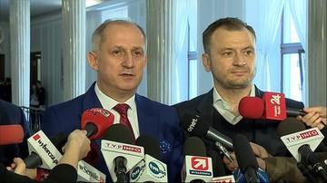 Posłowie PO ukarani za protest w Sejmie. Zaskarżą decyzję