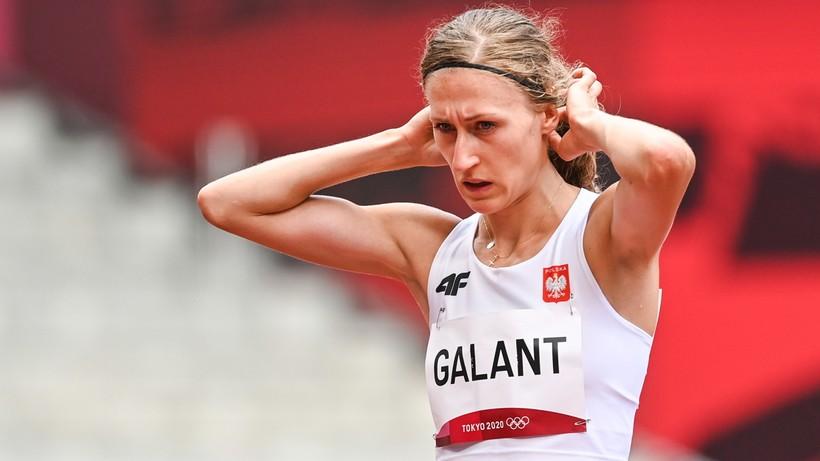 Tokio 2020: Martyna Galant nie pobiegnie w finale na 1500 m