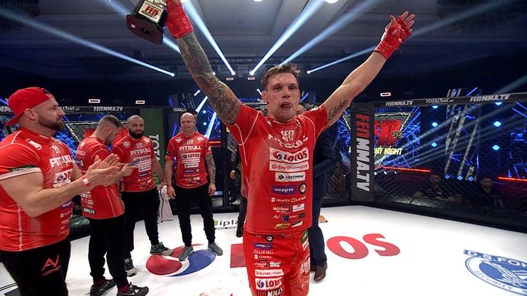 FEN 32: Szymon Dusza pokonał Rolanda Cambala po krwawej walce (WIDEO)