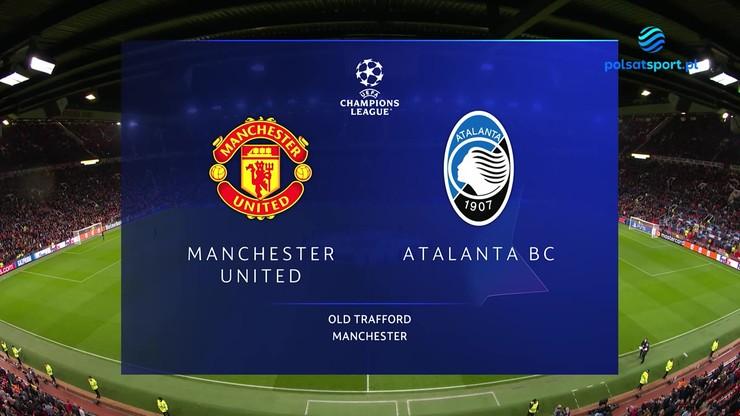 Manchester United - Atalanta. Skrót meczu