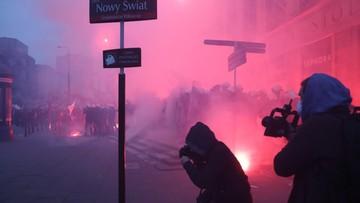 Pożar podczas Marszu Niepodległości. Podpalono pracownię znawcy sztuki