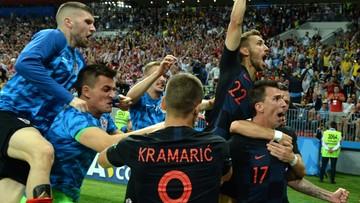 Chorwacja w dogrywce pokonała Anglię 2:1 i zagra z Francją w finale mundialu!