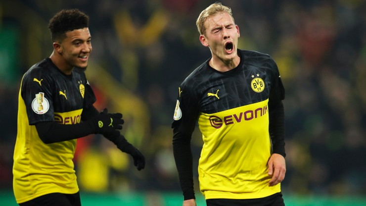 Puchar Niemiec: Awans BVB, klęska Wolfsburga. Honorowy gol Soboty