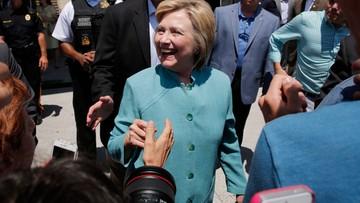 """""""Manipulacja"""". Trump o umorzeniu śledztwa ws skrzynki mailowej Clinton"""