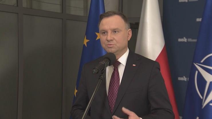 """""""Sytuacja jest trudna"""". Andrzej Duda rezygnuje z dużych spotkań w kampanii prezydenckiej"""