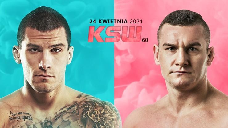 KSW 60: Adrian Dudek zastąpi Tomasza Jakubca