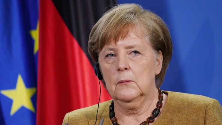 Niemcy. Merkel chce przedłużenia lockdownu do początku marca