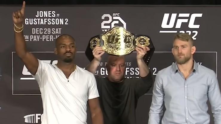 UFC 232: Jones już z pasem? Sprowokował Gustafssona (WIDEO)