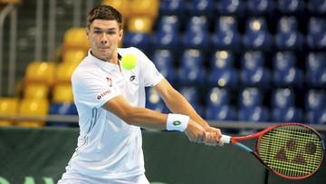 Puchar Davisa: Zwycięstwo Kamila Majchrzaka, Polska prowadzi z Salwadorem