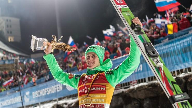 Prevc wygrał zawody w Bischofshofen i cały Turniej Czterech Skoczni