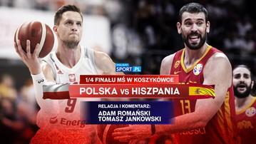 MŚ koszykarzy: Polska - Hiszpania. Komentarz ekspertów na żywo