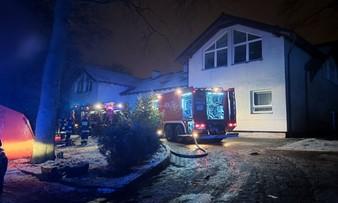 Pożar w hospicjum na Pomorzu. Nie żyją cztery osoby