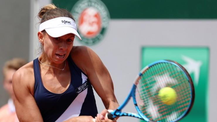 French Open: Linette awansowała do drugiej rundy. Były problemy