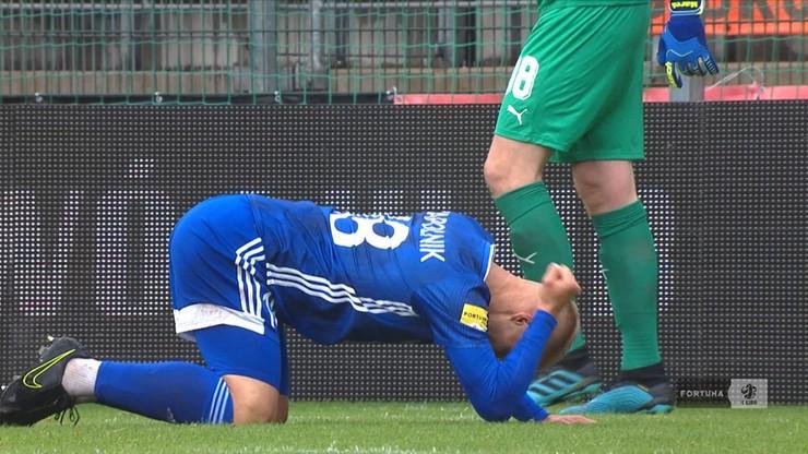 Fortuna 1 Liga: Podział punktów w Legnicy