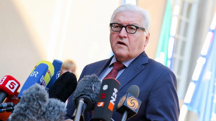 Steinmeier spotka się w poniedziałek z ministrami spraw zagranicznych państw V4