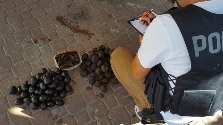 Ponad 100 granatów - znalezisko u mieszkańca Ełku