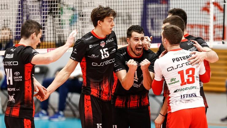 PlusLiga: Siatkarze Asseco Resovii górą w pierwszym meczu z Treflem Gdańsk