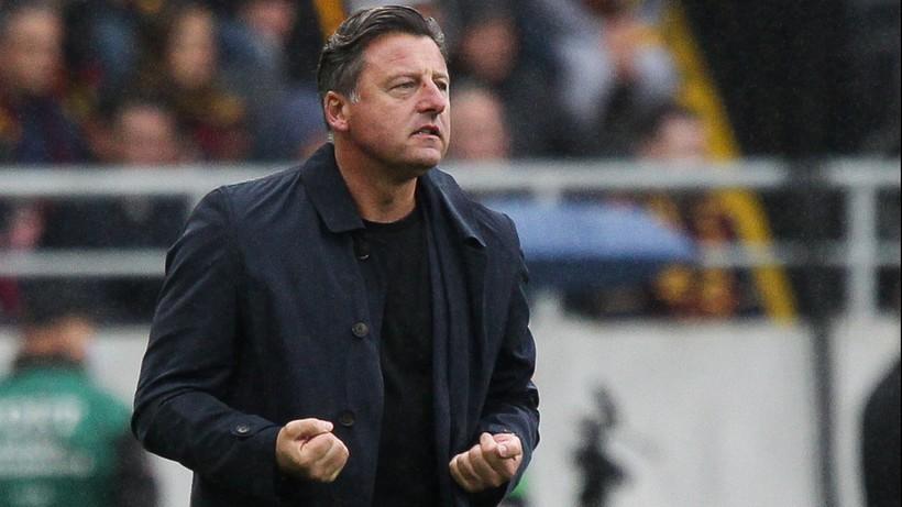 Kosta Runjaic po porażce Pogoni Szczecin w Fortuna Pucharze Polski: Nie powinno nam się to przydarzyć. Współczuję naszym kibicom