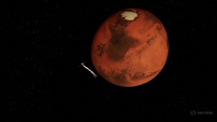 Sonda wysłana przez Zjednoczone Emiraty Arabskie ma wkrótce wylądować ma Marsie