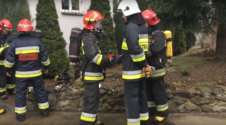 Pożar w przedszkolu w Wadowicach. Dzieci ewakuowano