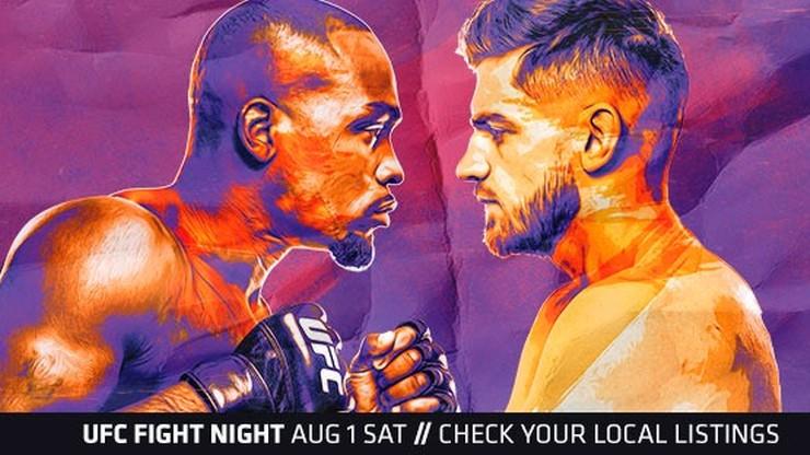 UFC Fight Night 173: Brunson - Shahbazyan. Transmisja w Polsacie Sport