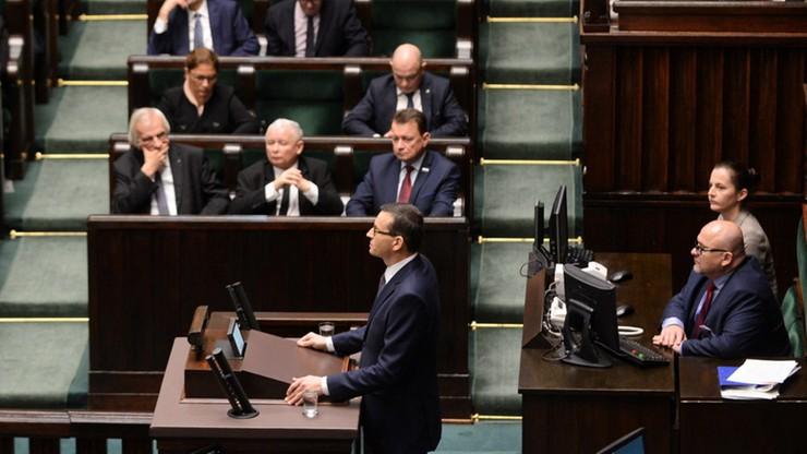 Sejm odrzucił wniosek PO o konstruktywne wotum nieufności wobec rządu