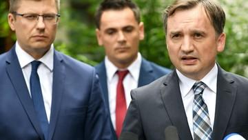 Ziobro: wiedziałem o śledztwie wobec Nowaka