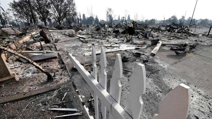 Tragiczne skutki pożarów w Kalifornii. Co najmniej 15 osób nie żyje, wiele jest zaginionych
