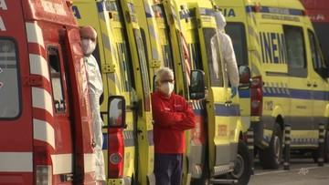 Paraliż szpitali w Portugalii. Sznur karetek z zakażonymi pacjentami