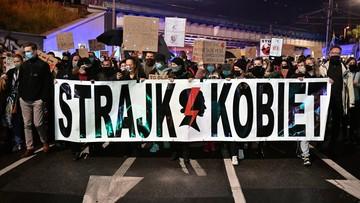 Strajk kobiet. Nie będzie postępowania wobec 14-latki z Olsztyna