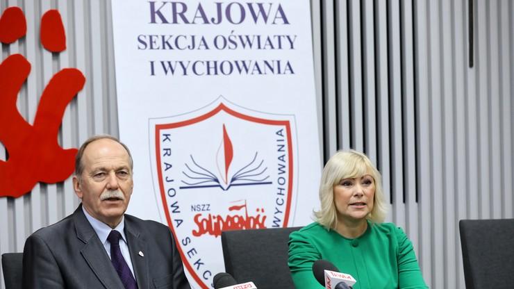 """""""Solidarność"""" domaga się odwołania minister edukacji Anny Zalewskiej. """"W oświacie wrze"""""""