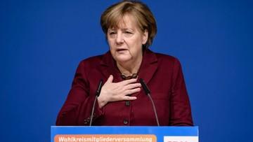 """""""Sprzeczny z ideą pomocy uchodźcom"""". Angela Merkel o dekrecie Trumpa"""
