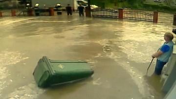 Nawałnica zalała wieś. Strażacy mieli święto, a gmina zareagowała trzy dni później