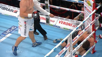 Sosnowski znokautowany w pierwszej rundzie! Pożegnał się z kibicami (WIDEO)