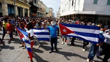 """Antyrządowe protesty na Kubie. """"Największe od 1994 roku"""""""