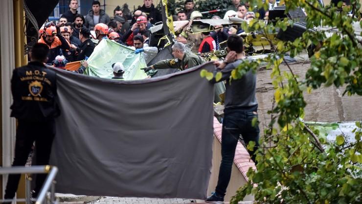 Wojskowy śmigłowiec rozbił się w Stambule. Spadł między bloki mieszkalne