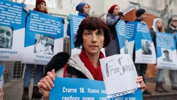 PE symbolicznie wręczył nagrodę Sacharowa więzionemu w Rosji Sencowowi