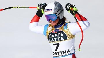 Alpejskie MŚ: Corinne Suter najlepsza w zjeździe