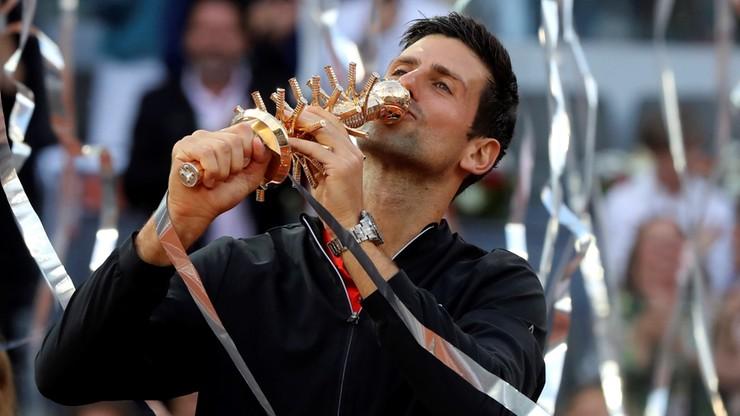 ATP w Madrycie: Wygrana Djokovica z Tsitsipasem w finale