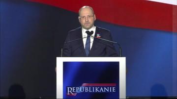 Zjazd Republikański z udziałem prezesa PiS Jarosława Kaczyńskiego