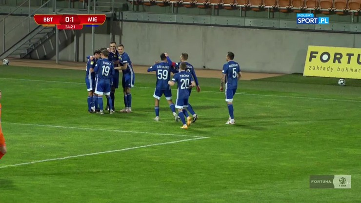 Bruk-Bet Termalica - Miedź Legnica 0:2. Skrót meczu