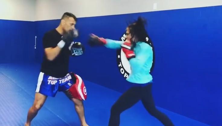 UFC: Jędrzejczyk już w wysokiej formie przed kolejną walką (WIDEO)