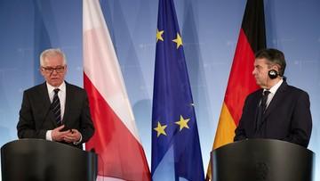 Szef niemieckiego MSZ: kwestia reparacji uregulowana prawnie