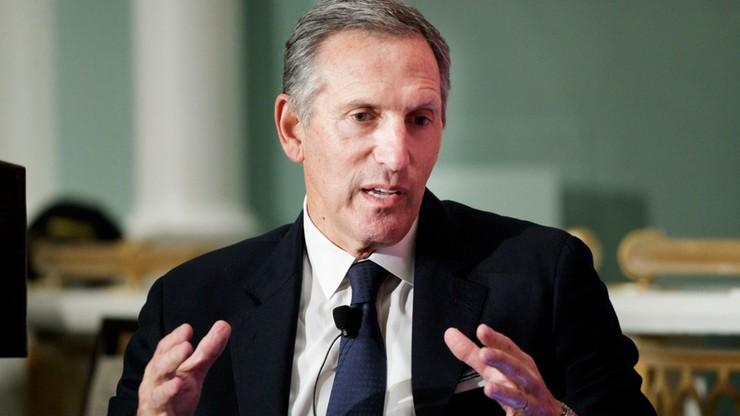 Były szef Starbucksa rozważa start na prezydenta USA
