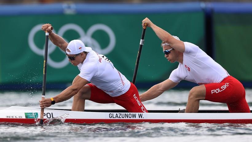 Tokio 2020: Kanadyjkarze Wiktor Głazunow i Tomasz Barniak awansowali do półfinału C2 1000 m