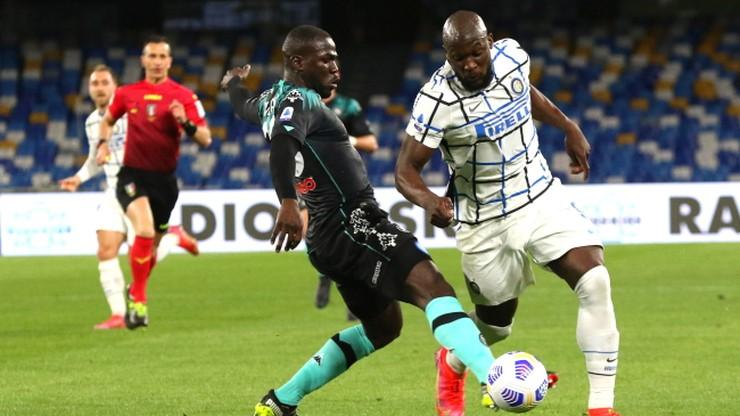 Serie A: Koniec serii Interu Mediolan po remisie z Napoli