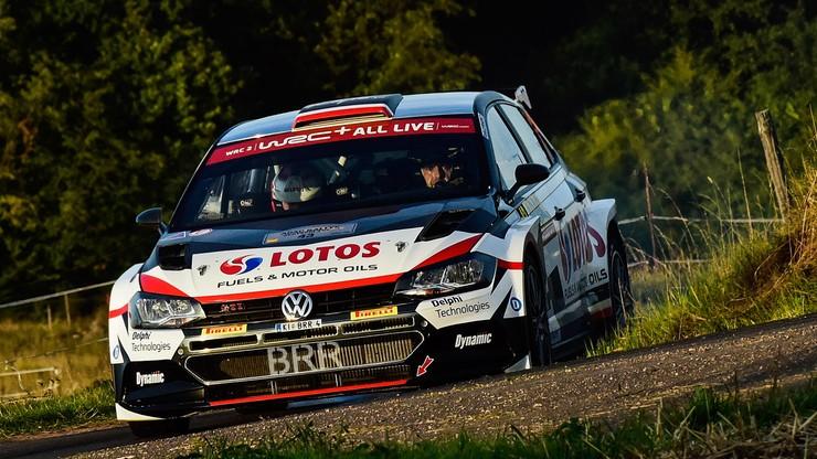 Rajd Niemiec: Tanak najlepszy, trzecie miejsce Kajetanowicza w WRC2